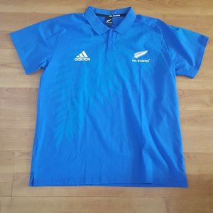 New Zealand All Blacks Rugby Anthem Polo
